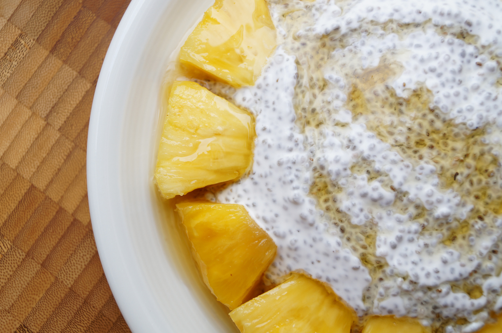 Chia Bananas Pudding