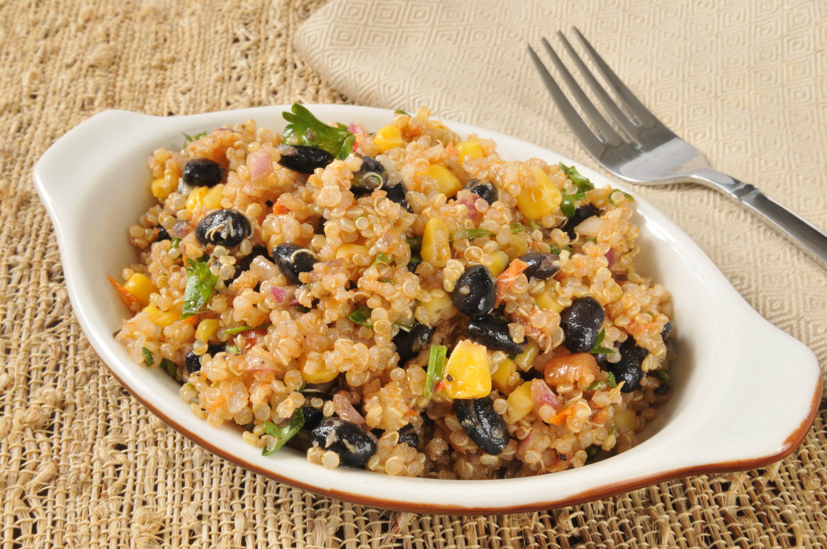 KNOW YOUR FAT AND A SOUTHWESTERN QUINOA SALAD